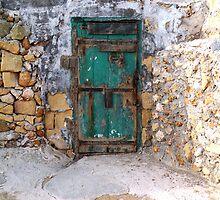 The Green Door by MsGourmet