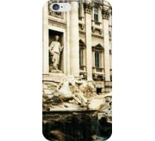 Rome, Italy: Trevi Fountain iPhone Case/Skin