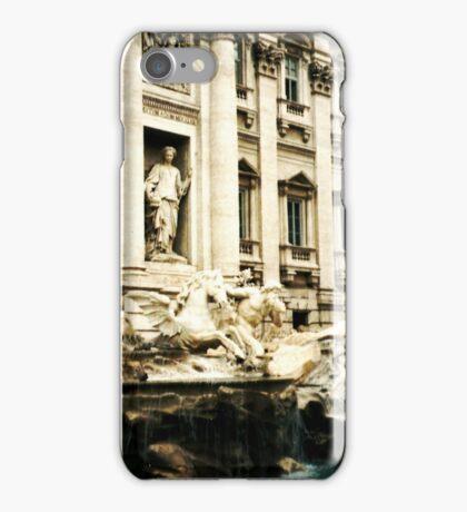 Rome, Italy: Trevi Fountain iPhone Case/Skin