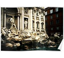 Rome, Italy: Trevi Fountain Poster