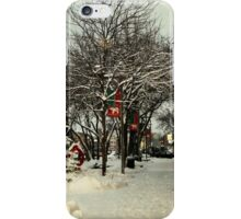 White Bear Lake, MN: Washington Square iPhone Case/Skin