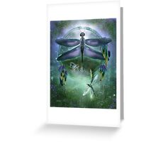 Dream Catcher - Wind Dancer Greeting Card