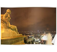 Privileged view over the city  Poster