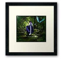 """Don't go where I can't follow..."" Framed Print"