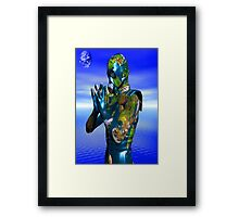 World Pollution 3 Framed Print