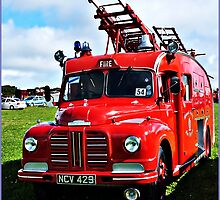 """ A War Time Fire Engine"" by mrcoradour"