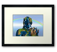 World Pollution 2 Framed Print