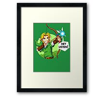 Fairy Bow Legend of Zelda T-shirt Framed Print