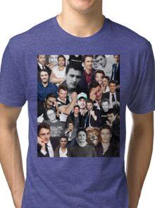 James Franco Collage Tri-blend T-Shirt