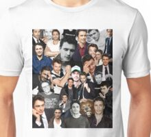 James Franco Collage Unisex T-Shirt