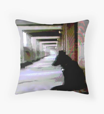 Ashfield Valley Dog Throw Pillow
