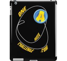 One A Week Challenge.com Logo iPad Case/Skin