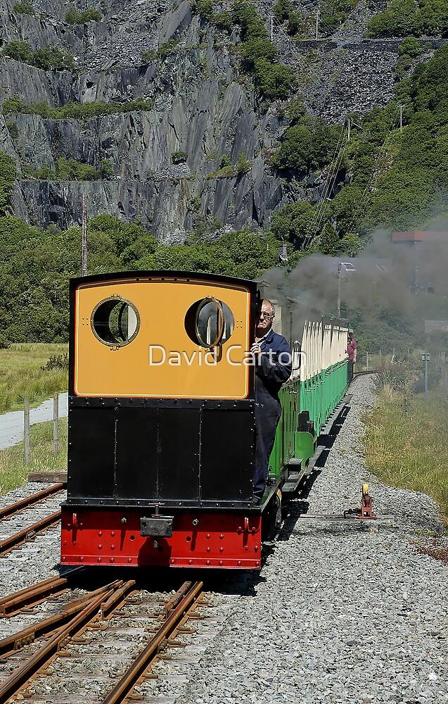Llanberis, lake railway, Snowdon, Wales by buttonpresser