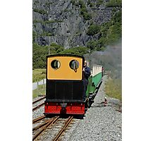 Llanberis, lake railway, Snowdon, Wales Photographic Print
