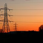 Electric Sunset by Kevin Cotterell