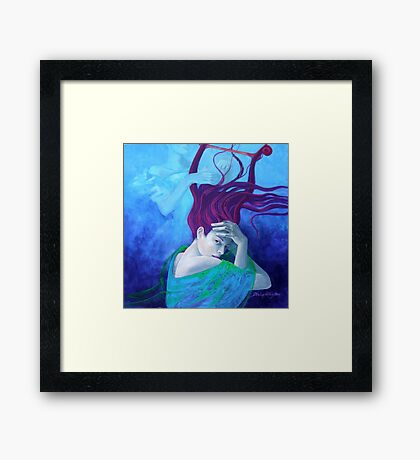 "Elegy - from ""Whispers"" series Framed Print"