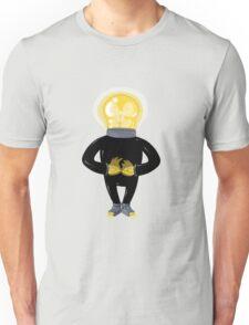Light Bulb Man Unisex T-Shirt