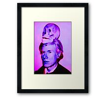 Mortality of Andy Warhol Framed Print