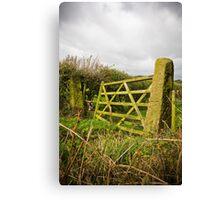 English Countryside Lancashire Canvas Print
