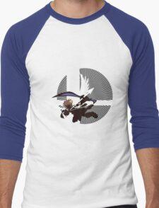 Pit (Flying, Smash) - Sunset Shores Men's Baseball ¾ T-Shirt