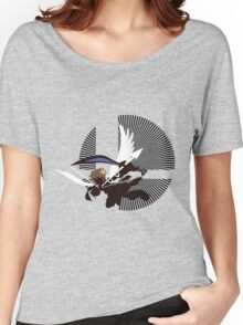 Pit (Flying, Smash) - Sunset Shores Women's Relaxed Fit T-Shirt
