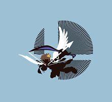 Pit (Flying, Smash) - Sunset Shores Unisex T-Shirt