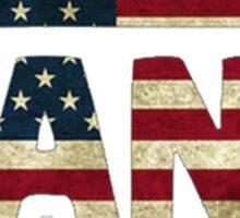 American Vans Sticker