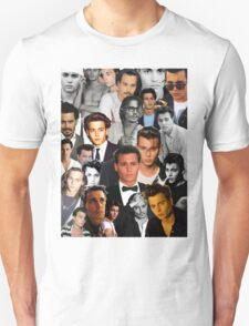 Johnny Depp Collage Unisex T-Shirt