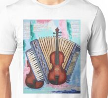 Music into the blue Unisex T-Shirt