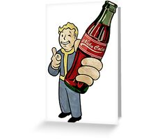 Nuka Cola Greeting Card