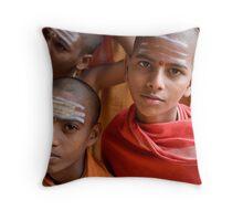 School. Sri Sailam Throw Pillow