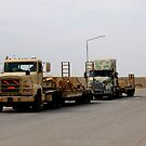 Ready To Roll, Iraq by Charles Buchanan