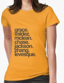 Heroes of Olympus Seven of the Prophecy Womens Fitted T-Shirt