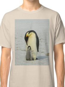 Mother And Baby Penguin  Classic T-Shirt