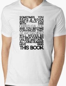 The Fault In Our Stars Quote Mens V-Neck T-Shirt