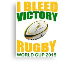 South Africa Rugby Union World Cup 2015 - Tshirts, Stickers, Mugs, Bags Canvas Print