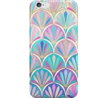 Glamorous Twenties Art Deco Pastel Pattern iPhone Case/Skin