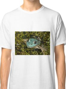 Green Frog (Blue Variant) Classic T-Shirt