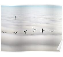 Shrouded in clouds Poster