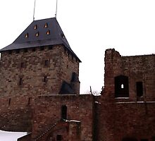 The Keep of Burg Nideggen by TriciaDanby