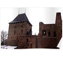 The Keep of Burg Nideggen Poster