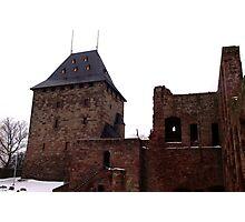 The Keep of Burg Nideggen Photographic Print