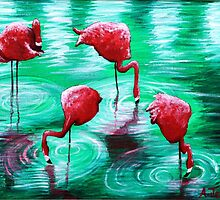 Flamingo Festival by Aoife Joyce