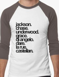 Percy Jackson And the Olympians characters Men's Baseball ¾ T-Shirt