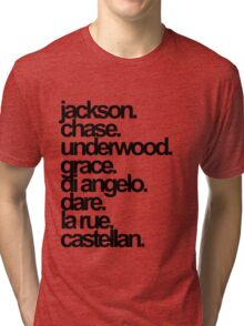 Percy Jackson And the Olympians characters Tri-blend T-Shirt