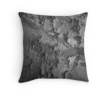 Dried Paint, Cracking Throw Pillow