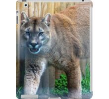 Cool cougar iPad Case/Skin