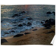 """Sundown Beach"" Poster"