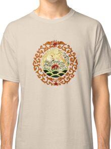 Asian Art Chinese Crane Classic T-Shirt