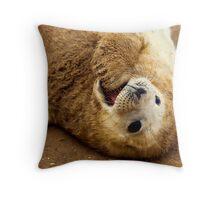 Funny Feeling Throw Pillow